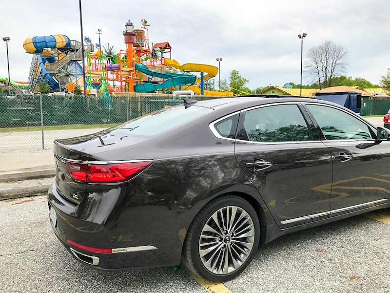 Kia Cadenza at the Kia Ride and Drive
