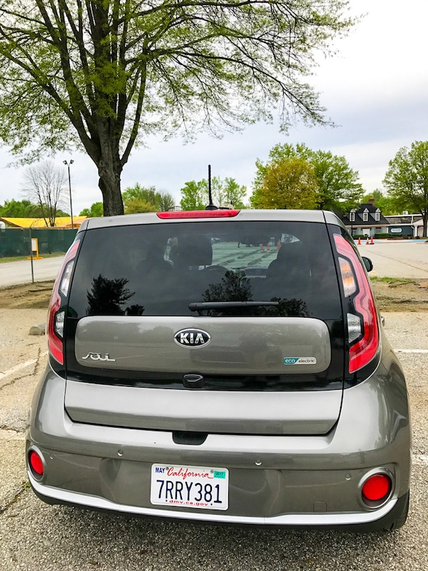 Kia Soul EV at the Kia Ride and Drive