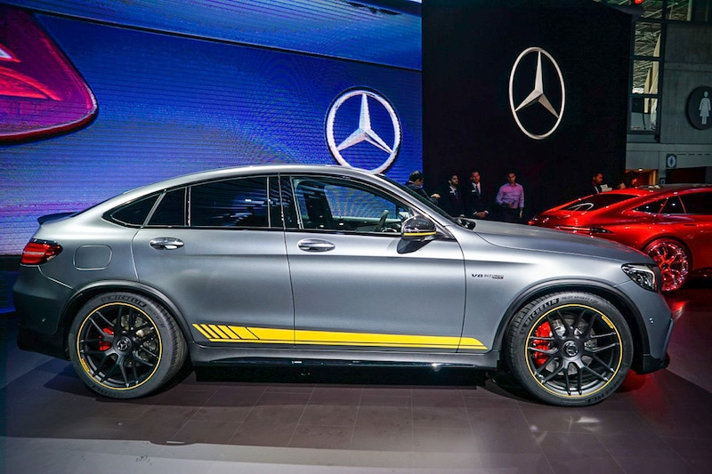 Mercedes GLC side