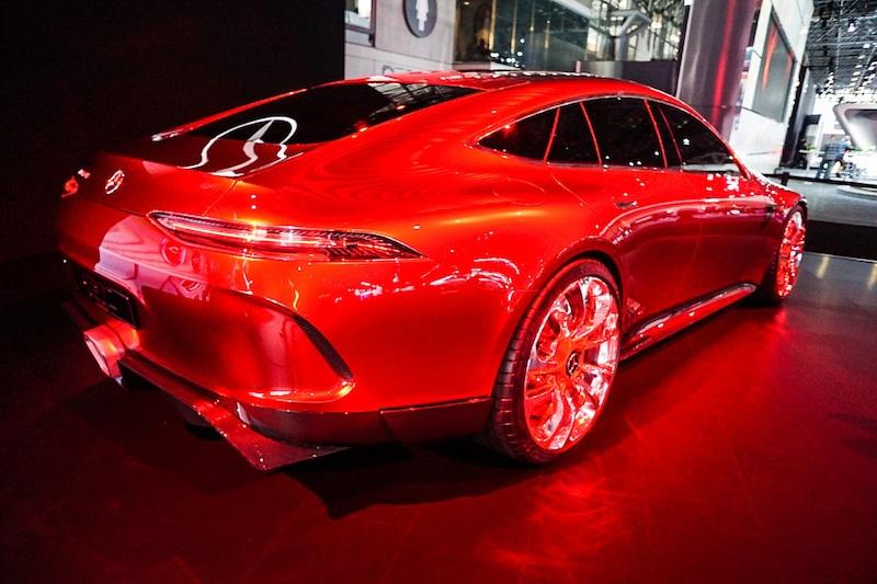 Mercedes concept rear