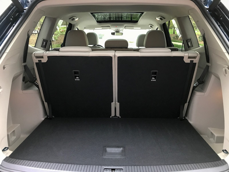 VW Atlas cargo space