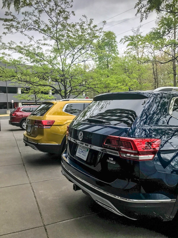 VW Atlas lineup
