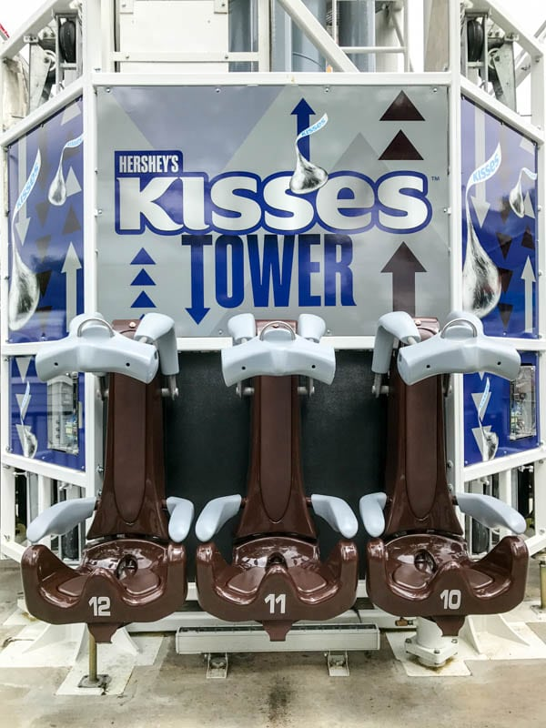 Hershey's Kisses Tower restraints