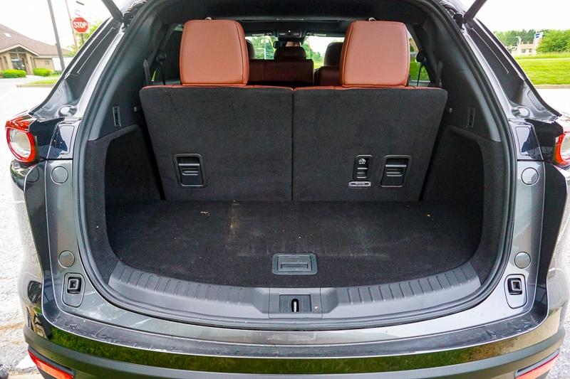 Mazda CX-9 rear cargo