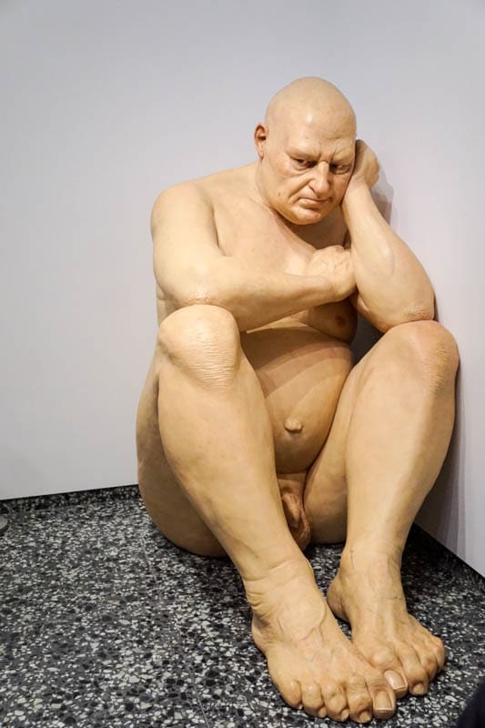 Untitled (Big Man) by Ron Mueck