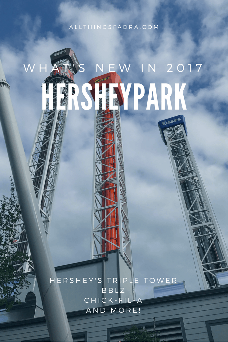 What's New in 2017 at Hersheypark