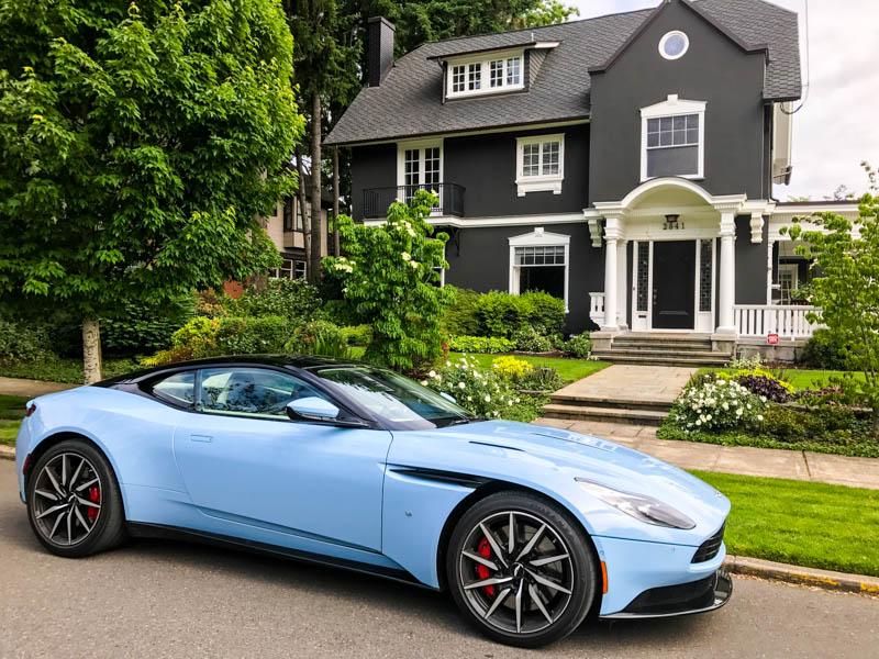Aston Martin DB11 - Heels & Wheels