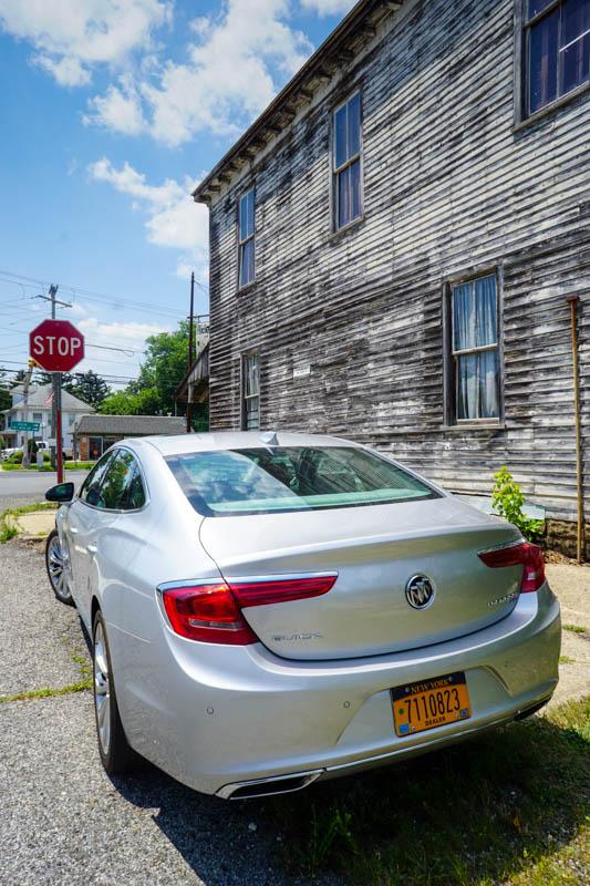 Buick LaCrosse - rear