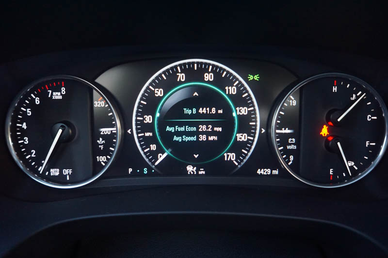 Dashboard - Buick LaCrosse