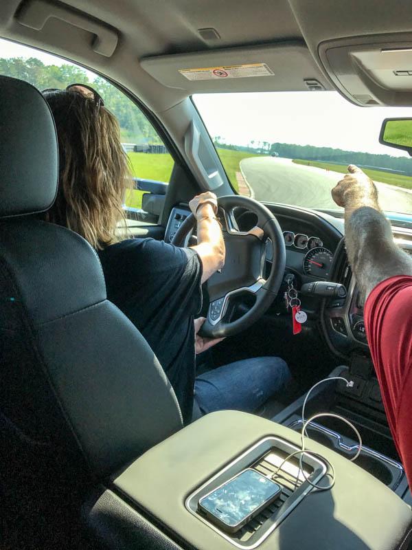 Handling the Chevy Silverado