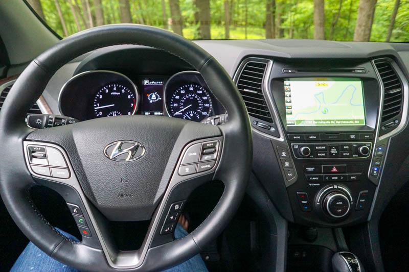 Hyundai Santa Fe - dashboard