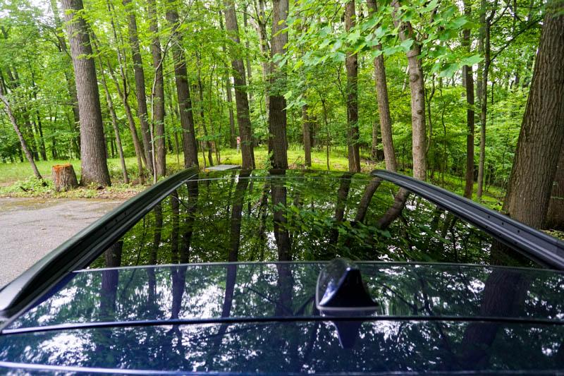 Hyundai Santa Fe - panoramic sunroof