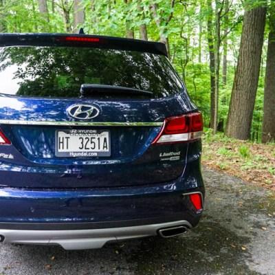Capturing the 2017 Hyundai Santa Fe in the Wild