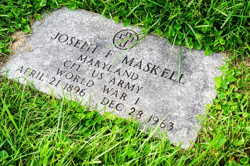 Joseph Maskell stone - The Keepers