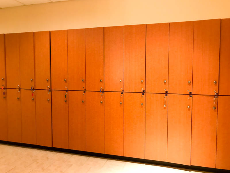 Lockers - Darrell Barrett Salon and Spa