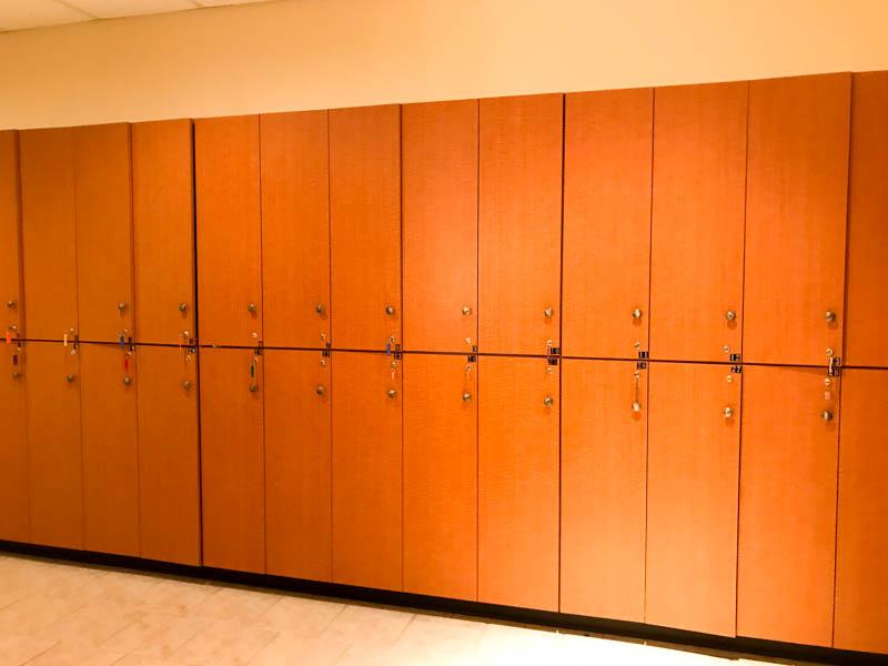 Lockers - Darrell Barrett Salon and Spa