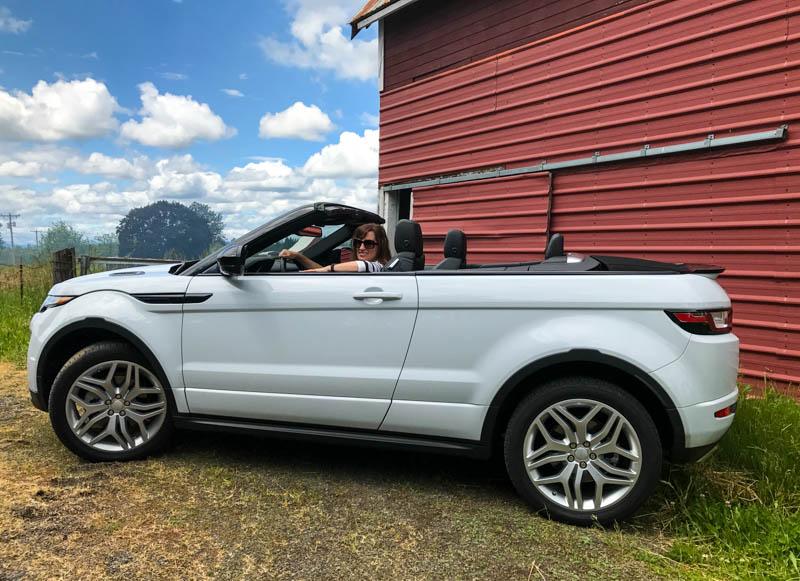 Range Rover Evoque - Heels & Wheels