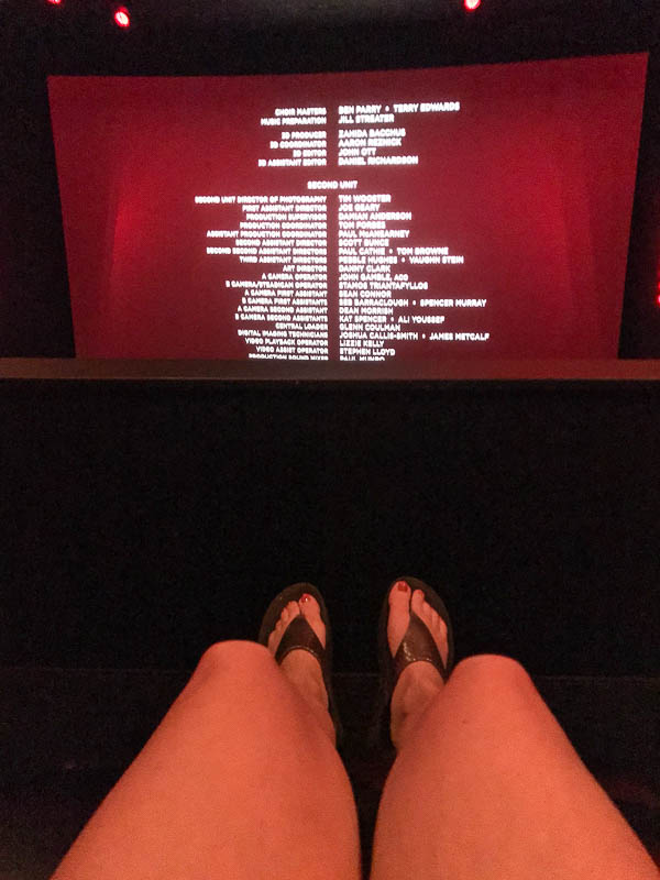 Dolby experience at AMC theater