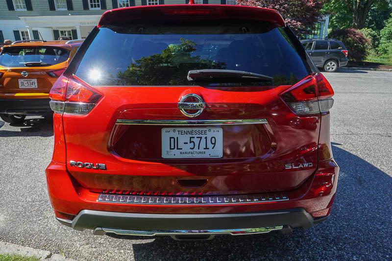 Nissan Rogue - rear