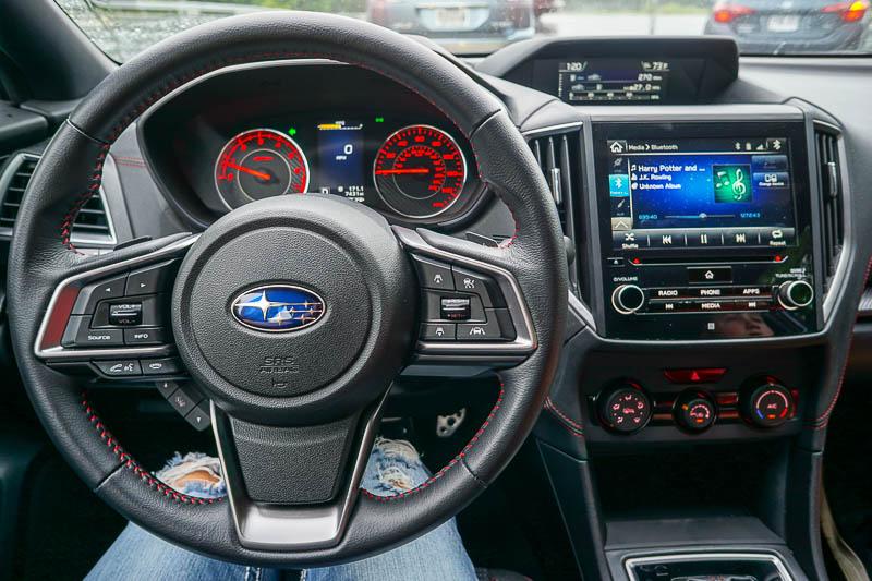 2017 Subaru Impreza dashboard