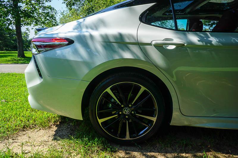 2018 Toyota Camry rear