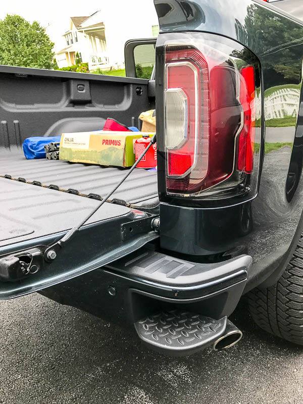 Cornerstep on the GMC Sierra Denali