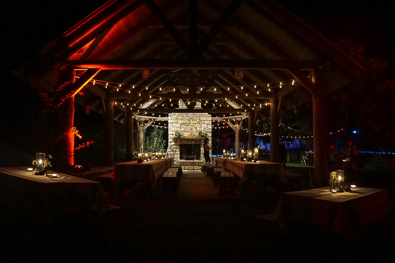 Dinner under the stars at Owl's Hill with Nissan