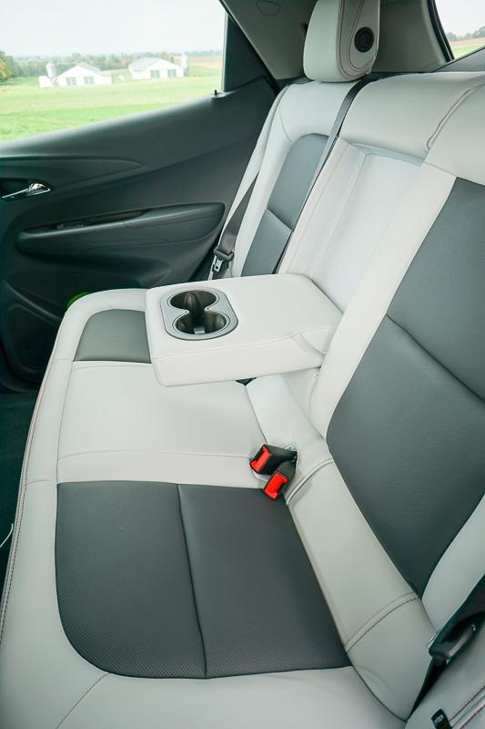 Chevy Bolt - spacious rear
