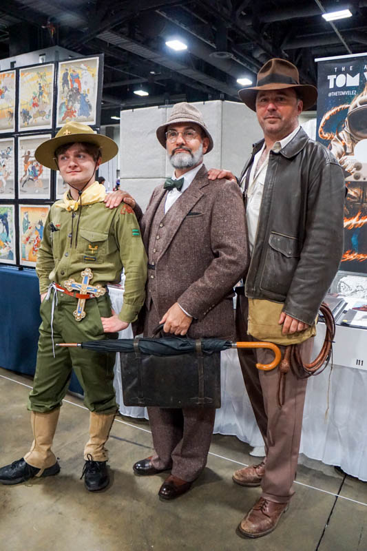 Indiana Jones family costumes