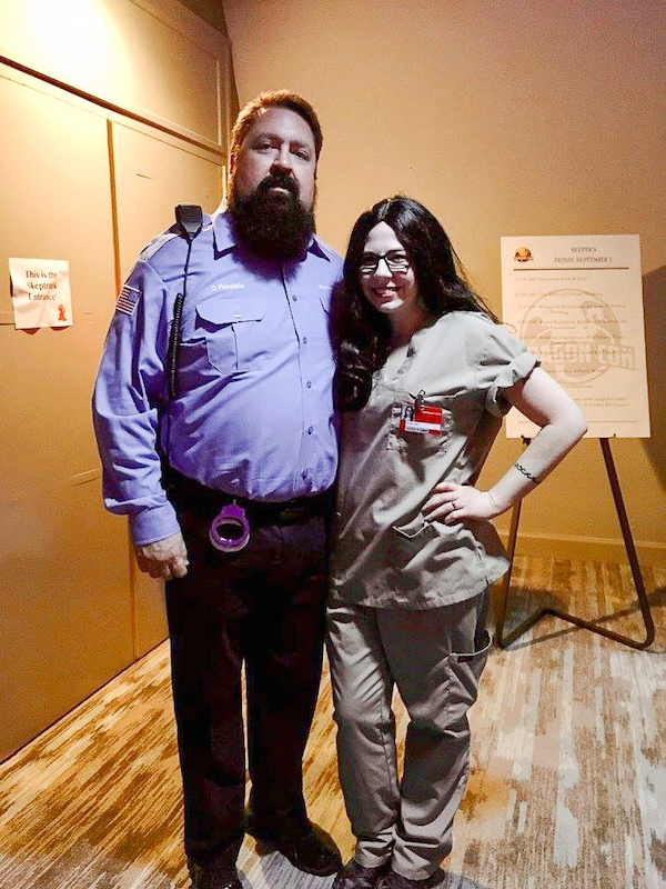 Pornstache and Alex from OITNB costume