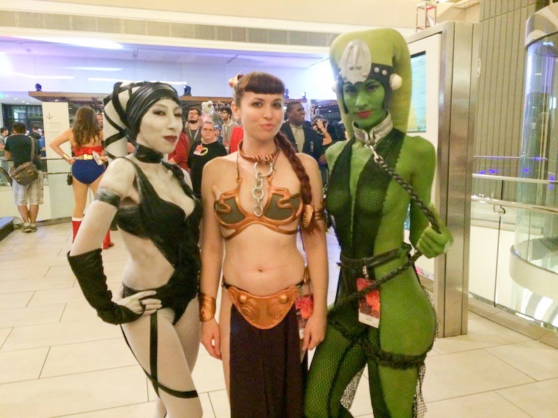 Sexy Star Wars costumes