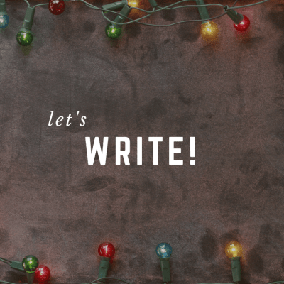 5 Days of December: Holiday Writing Prompts for Christmas Limbo