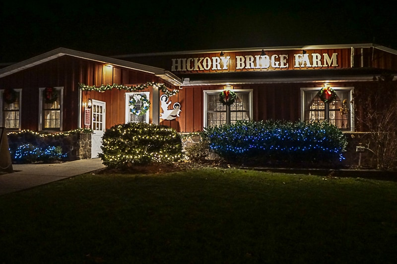 Hickory Bridge restaurant