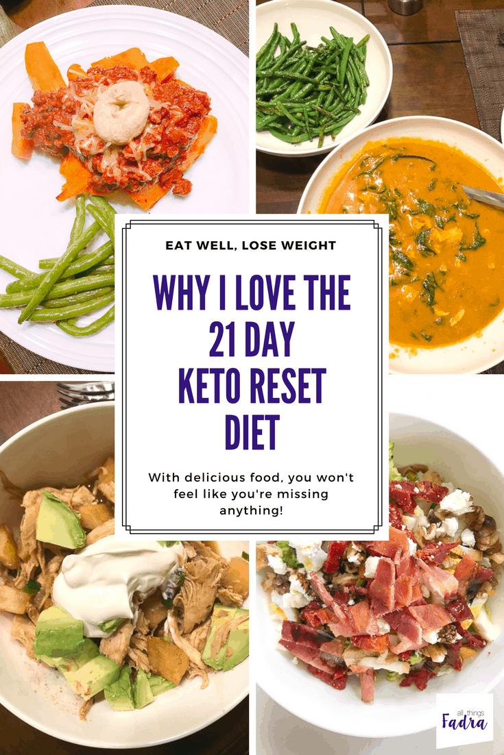 21 day keto reset diet