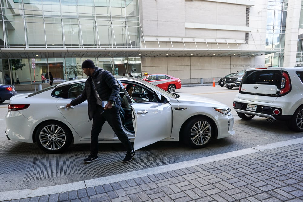Driving the Kia Optima - Washington Auto Show