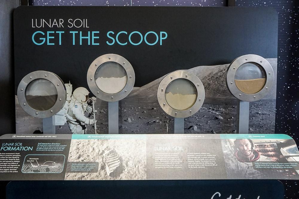 NASA Goddard exhibits