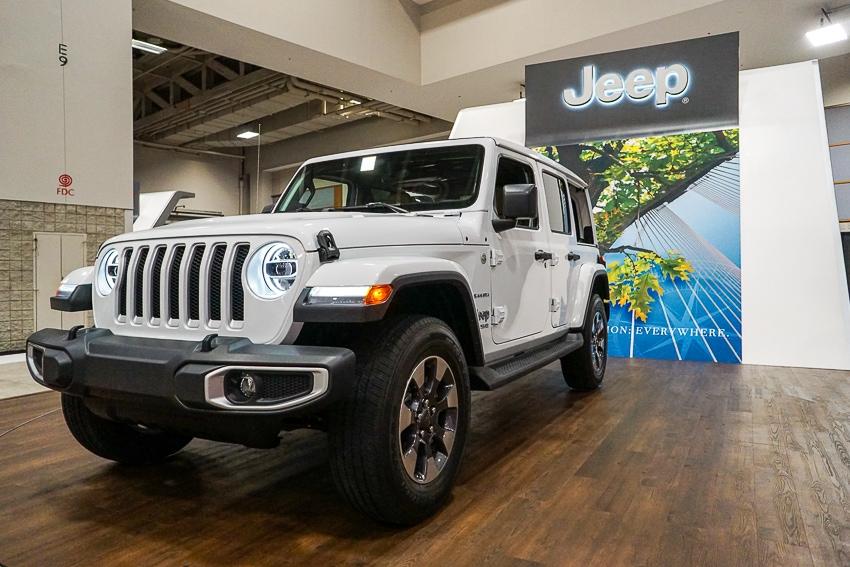 Auto Shows-Jeep Wrangler