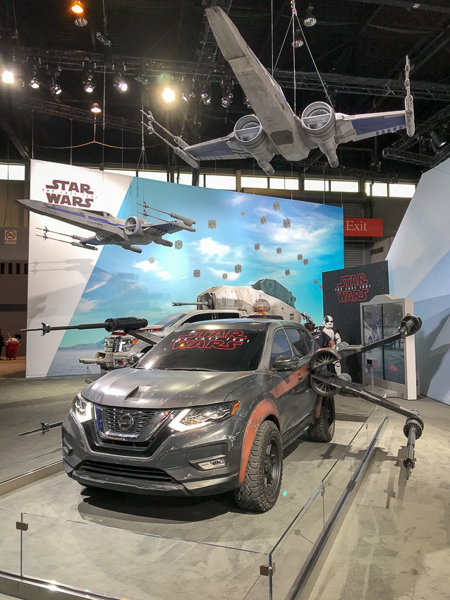 Auto Shows-Nissan Rogue Star Wars