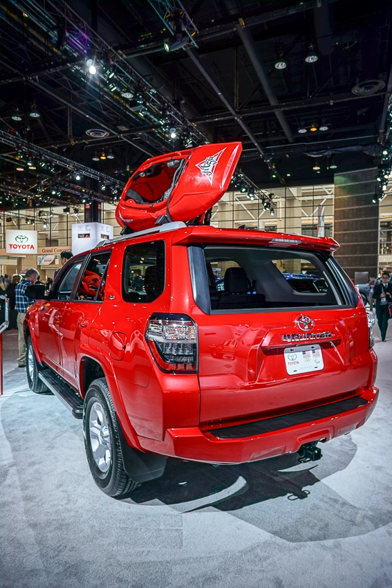 Auto Shows-Toyota 4Runner TRD