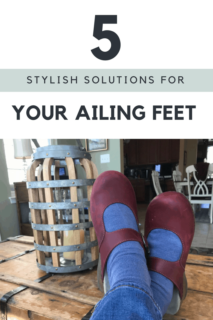 Solutions for ailing feet