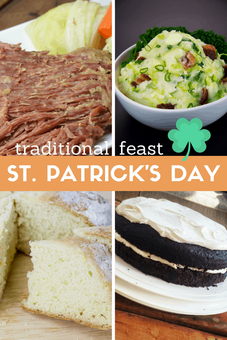 Traditional St. Patrick's Day Feast