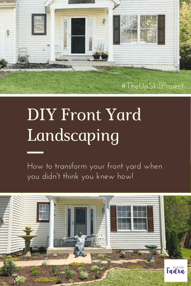 Diy Landscaping For The Front Yard All Things Fadra