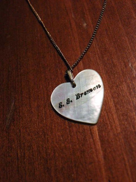 Steamship necklace