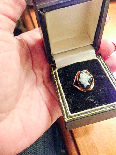 My mother's cameo ring