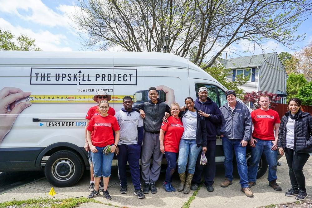 The UpSkill Project team