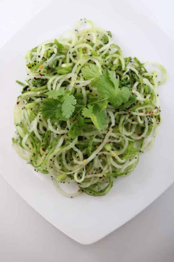 Cucumber-Spiralized-Salad