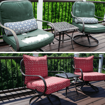 It's an Easy DIY Patio Furniture Makeover!