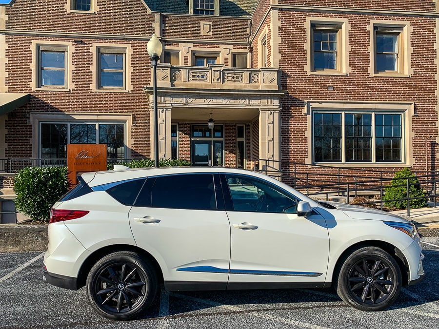 Acura RDX at Char's Tracy Mansion