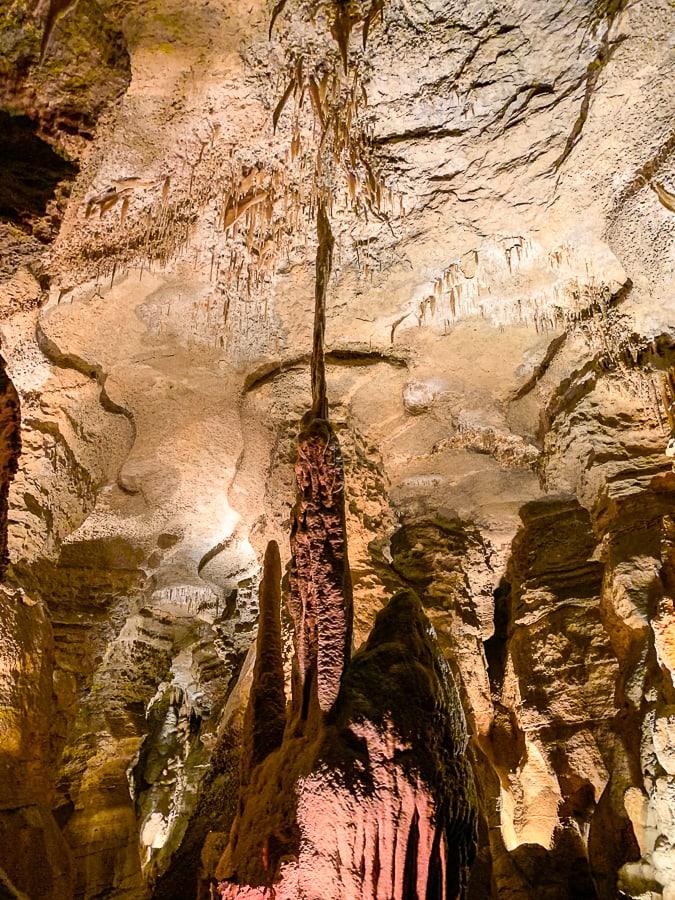 cave straws in Whisper Rocks