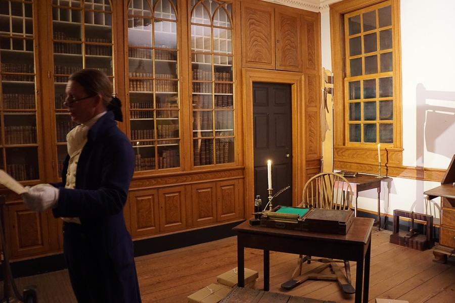 Mount Vernon Candlelight tour